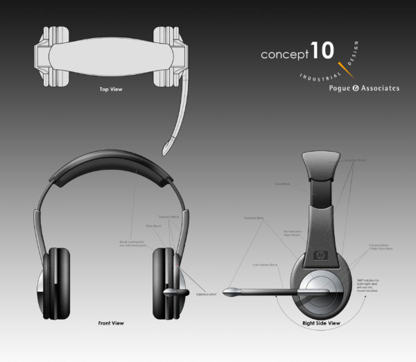 Computer Headset Concept