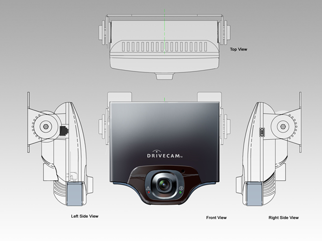 Vehicle Rear View Camera Concept